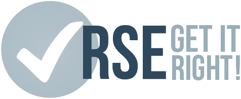 RSE - Get It Right! logo